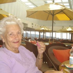 86 year old Dances around the world on Cruise Ships