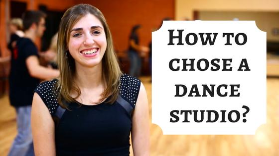How to choose a ballroom dance studio